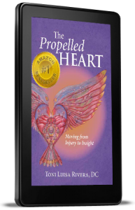Kindle image for Propelled Heart - by Toni Luisa Rivera